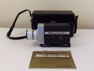 nikon 8x super zoom movie camera super 8