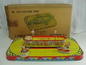 1950s j chein playland whip 340