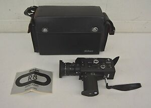 1977 nikon r8 super 8 professional quality