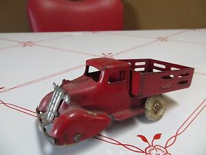 1940s 1950s pressed steel toy