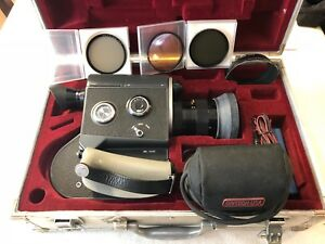 canon scoopic 16mm camera case filters