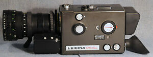 leicina special leica super 8 movie camera