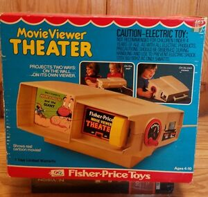fisher price movie viewer theater 3 movies