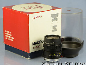 leica leicina 10mm macro cinegon f1 8