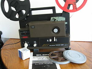 elmo super 8mm sound two spd projector