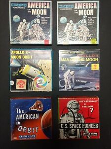 outer space lot of 6 super 8 8 mm film