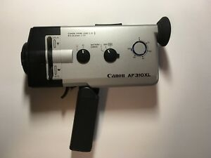 canon af310xl super 8mm movie camera