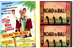 super 8mm feature film road to bali 1952