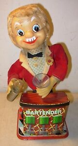 battery operated tin toy rosko