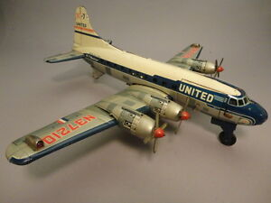 1950 united airlines dc7 airliner