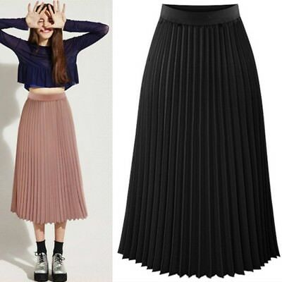 Юбка Sexy Women Long Midi Pleated