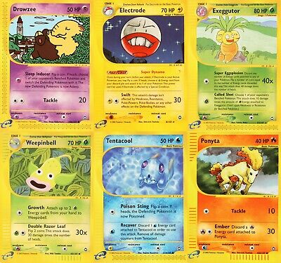Pokemon Aquapolis Trading Cards - Select from List
