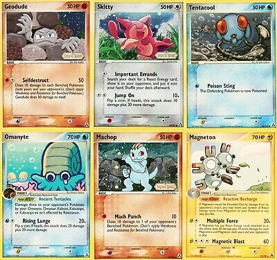 Pokemon Legend Maker Trading Cards - Select from List
