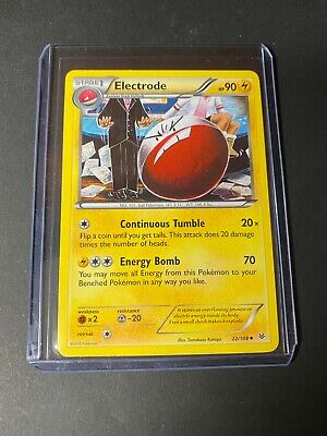 Electrode 22/108 Uncommon Roaring Skies Pokemon Card