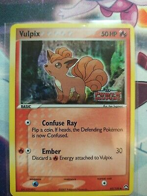 Pokemon Vulpix Reverse Holo EX Power Keepers 69/108 MINT