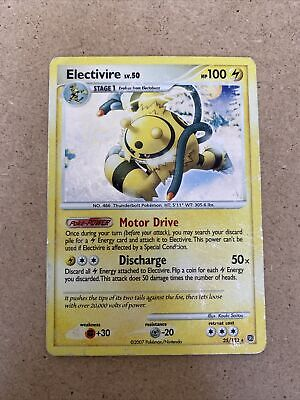 Electivire 25/132 Holo Rare Diamond & Pearl Secret Wonders Pokemon Card