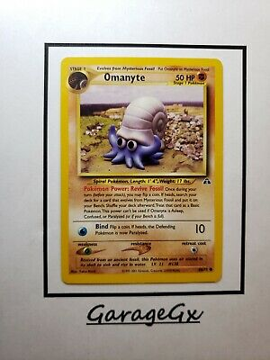 Pokemon Omanyte - 60/75 - Common Unlimited Neo Discovery Ex