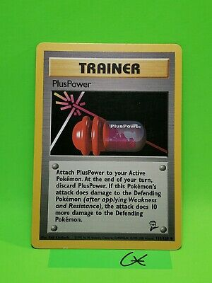 Pokemon PlusPower - 113/130 - Uncommon Base Set 2 Nm