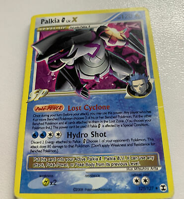 PALKIA G LV.X - 125/127 Pokemon Card - 2009 Platinum