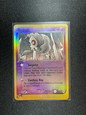 Duskull - 61/100 - Common Reverse Holo Ex Sandstorm SP Pokemon Card