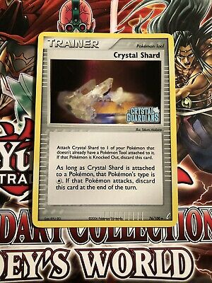 Crystal Shard 76/100 EX Crystal Guardians Stamped Reverse Holo 2006 Pokemon Card