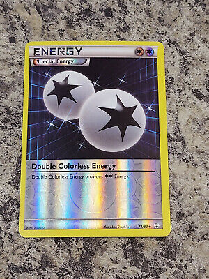 Double Colorless Energy - 74/83 XY Generations Pokemon Reverse Holo Foil Nice!