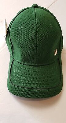 NWT ARMANI EXCHANGE LOGO BASEBALL HAT ADJUSTABLE STRAP ONE SIZE FIT ALL  GREEN(b) 4b02e80bfd36f