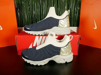 c21e2ff5ef Nike Air Max Plus Slip SP Womens Midnight Navy Silver Grey 940382-400 Multi  Sz