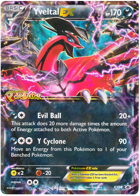 Yveltal EX Promo Pokemon Card XY8