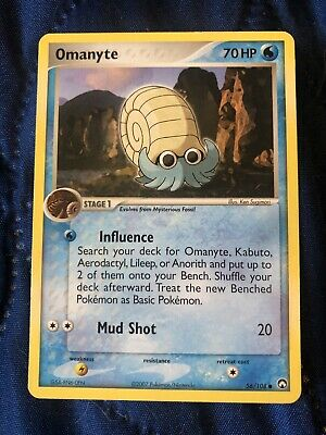 Omanyte 56/108 - Common - EX Power Keepers - Pokemon Card