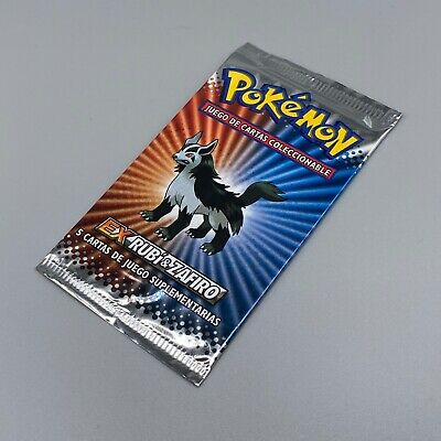 Light Booster Pack Mightyena - EX Ruby Sapphire - SPANISH - Pokemon - SEALED