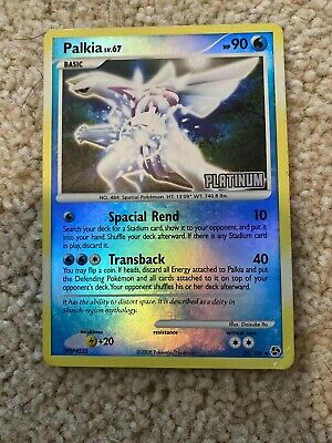 Palkia 26/106 Rare Reverse Holo Dp Great Encounters Mint Pokemon Card