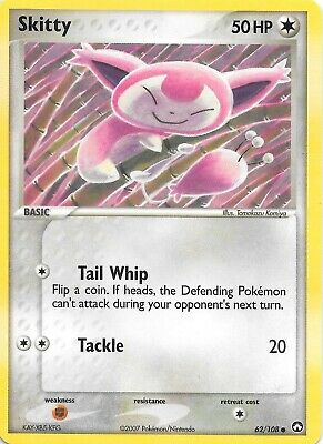 SKITTY  62/108  EX POWER KEEPERS Pokemon Card  NM