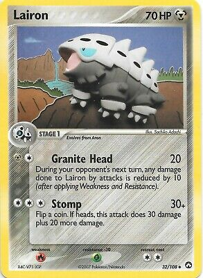 LAIRON  32/108  EX POWER KEEPERS Pokemon Card  NM