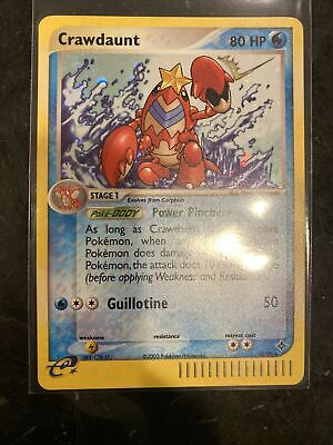 Crawdaunt 3/97 EX Dragon Rare Holo Pokémon Pokemon NM - Near Mint - Swirl