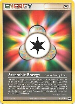 SCRAMBLE ENERGY  89/101 EX Dragon Frontiers Pokemon Card EX