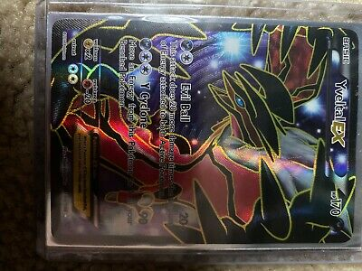 YVELTAL EX 144/146 XY Base Set Full Art Ultra Rare Pokemon Card - Used