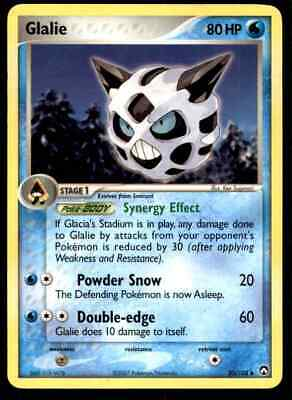 2007 Pokemon EX Power Keepers Glalie #30