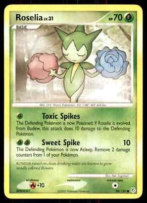 2007 Pokemon Diamond And Pearl Roselia C #96