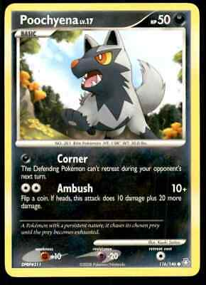 2008 Pokemon Dp Legends Awakened Poochyena #116