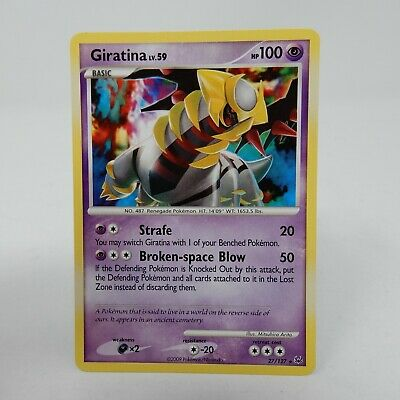 Giratina - 27/127 - Rare - Platinum - NM - Pokemon