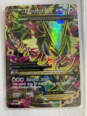 Pokemon XY Roaring Skies M Rayquaza EX Full Art ULTRA RARE 105/108