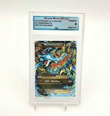 2014 Pokemon XY: Flashfire M CHARIZARD EX #69/106 Ultra Rare💎 DSG 8