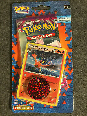 Pokemon TCG XY Phantom Forces Booster Promo Pack - Includes Talonflame Promo