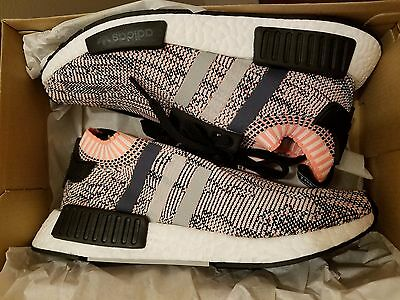6ce60878c Adidas NMD R1 PK W Salmon Pink Onix Glitch Camo BB2361 Women s sizes 5.5-10