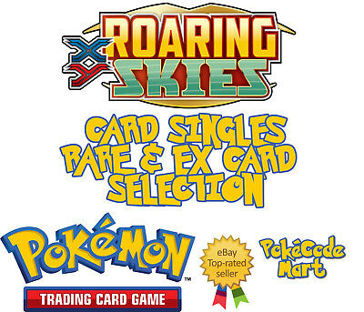 Pokemon TCG XY Roaring Skies Card Selection: Rare Holo and EX Cards (/108)