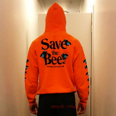ce7e4f981f9e00 Men Save The Bees Creator Flower Boy Hoodie Sweatshirt Hooded Golf Pullover  Wang