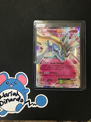 POKEMON XERNEAS EX XY149.(HOLO).NM Minor Whiting
