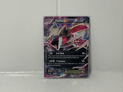 Yveltal EX XY150 Black Star Promo Holo Pokemon Card Near Mint
