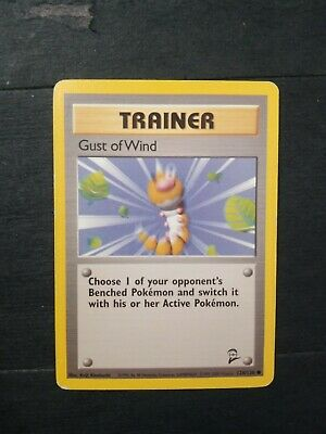 Gust Of Wind Base Set 2 Pokemon Cards 120/130 Trainer